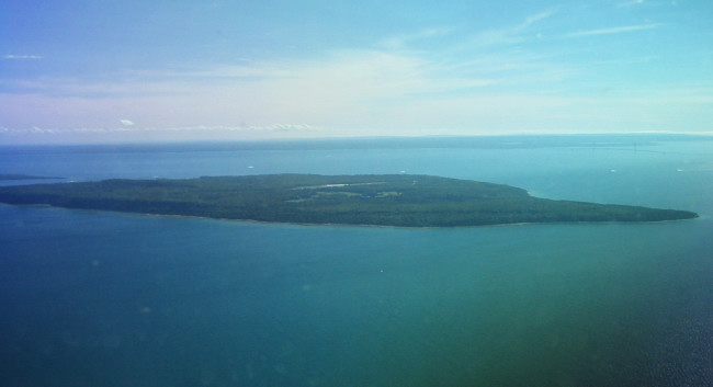 A picture named Mackinac Island From The Air.jpg