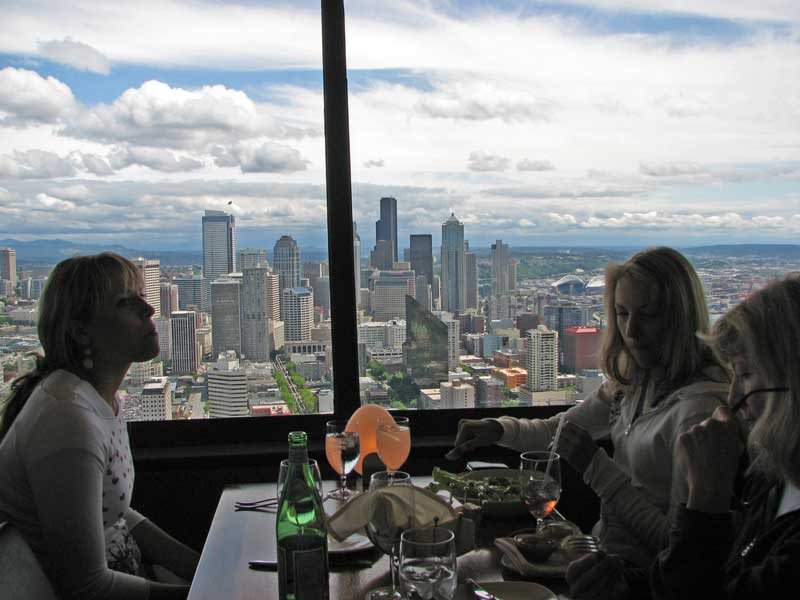 the space needle restaurant
